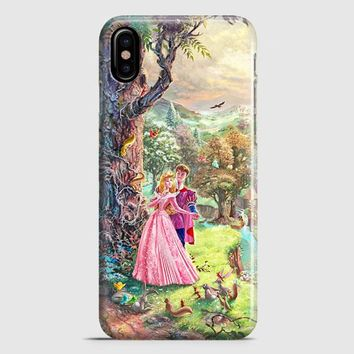 Sleeping Beauty Walt Disney Art Painting iPhone X Case | casescraft