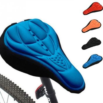 Soft Bicycle Saddle Bike Seat High-grade Bicycle Seat Cover Cycling Saddle Mountain Bike Breathable Ride Thickening
