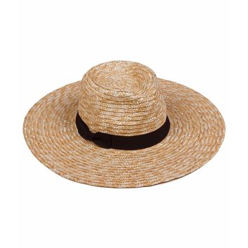 lack of color - the spencer wide brimmed fedora