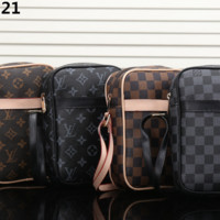 LV Single shoulder oblique cross briefcase [305790615581]