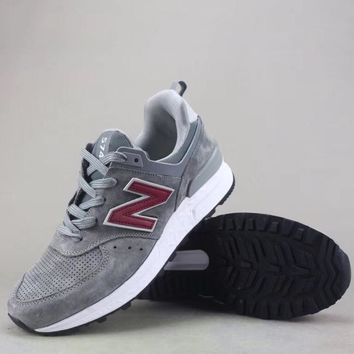 New Balance 574 Women Men Fashion Casual Sneakers Sport Shoes-6
