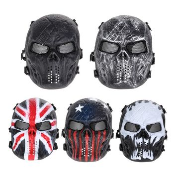 Phantom Military Tactical Wargame Paintball/Airsoft Skull Full Face Mask