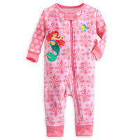 Ariel Footless Stretchie Sleeper for Baby