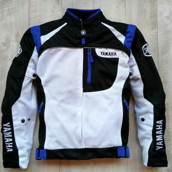 Trendy Summer Mesh Motorcycle Men's Jackets Moto Racing Windproof Jackets for Yamaha Motornikers AT_94_13