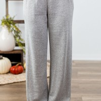 Find Your Motivation Pants- Heather Grey