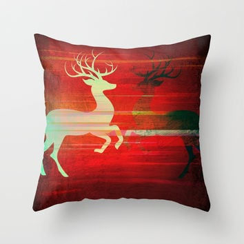 Deary Throw Pillow by Ashley