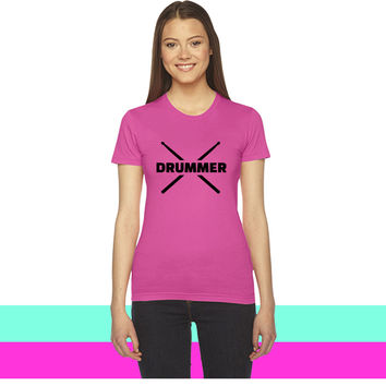Drummer women T-shirt