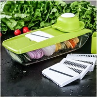 Mandoline Slicer Manual Vegetable Cutter with 5 Blades Multifunctional Vegetable Cutter Potato Onion Slicer Kitchen Accessories