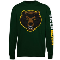 Baylor Bears Mascot Pride Long Sleeve T-Shirt – Green