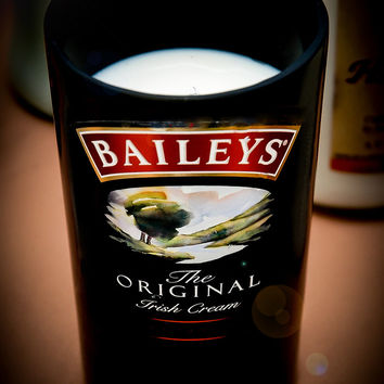 Creme Brule Baileys Original Irish Creme Liqueur Bottle Natural Soy Candle