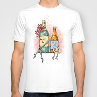 Bottled Romance T-shirt by Laurie A. Conley