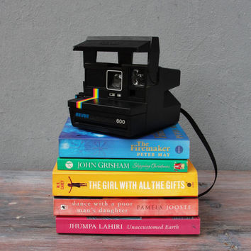 Vintage Polaroid Revue Camera 6000 Rainbow Working condition rare model from the 1980's