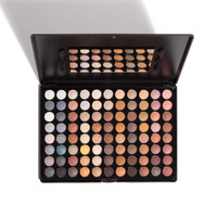 88 Professional Warm Eye Palette