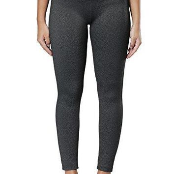 WingsLove Women's Yoga Pants Workout Fitness Sports Running Gym Activewear Leggings (S, Charcoal)