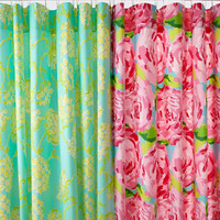 Lilly Pulitzer® Sister Florals Shower Curtain - Garnet Hill