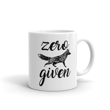 Zero Fox Given Mug - FREE SHIPPING