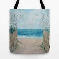 Sandbridge Shores Tote Bag by Ann Marie Coolick