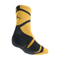 Nike Air Jordan Jumpman Dri-FIT Crew Socks Medium - Atomic Mango