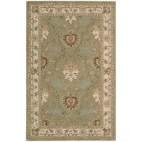 Nourison Earth Treasures Sage 8 ft. x 10 ft. 6 in. Area Rug-002181 - The Home Depot