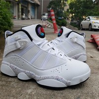 WMNS Air Jordan Six Rings - White Sneaker Shoes