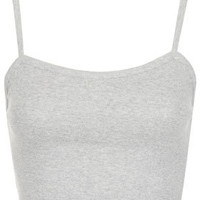 Basic Bralet Crop Top - Bralets & Cropped Tops - Jersey Tops  - Clothing