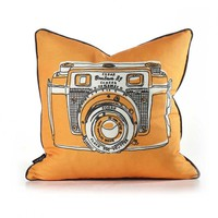Shutter in Sunshine Pillow - Your source for Inhabit products,Wall Flats, 3D Wall Tiles, modern bedding, lighting, pillows, & area rugs. Modern Furnishings | 3D Decorative Wall Panels | Wall Tiles | Wall Decor |  Modern Bedding | Rugs | Lighting | Pillows