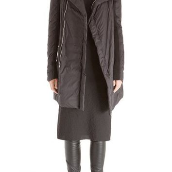 Rick Owens 'Eileen' Long Nylon Down Jacket | Nordstrom