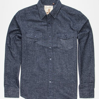 COASTAL Overcast Mens Flannel Shirt | Flannels