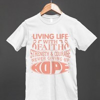 Endometrial Cancer Living Life With Faith Shirts