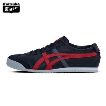 PEAPON 2017 New Arrival ONITSUKA TIGER MEXICO 66 Men Skateboarding Shoes Breathable Leather Woman Sport Shoes  Sneakers D4J2L