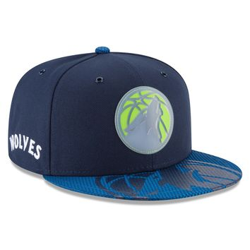 Men's Minnesota Timberwolves NBA18 All Star Game On Court Collection 9FIFTY Snapback Hat By New Era