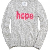 Inspirational Word Sweater | Girls Sweaters Clothes | Shop Justice