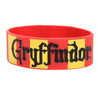 HARRY POTTER GRYFFINDOR RUBBER BRACELET