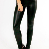 Zip Matted Legging $32