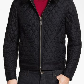 Men's Burberry Brit 'Howson' Quilted Bomber Jacket