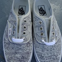 Custom-Designed Beach Surf VANS Shoes