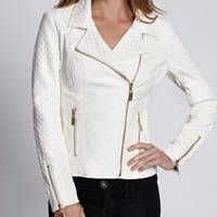 Finnegan Quilted Moto Jacket