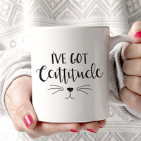 I've Got Cattitude Mug