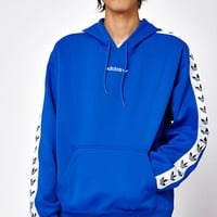 adidas TNT Tape Blue and White Pullover Hoodie at PacSun.com