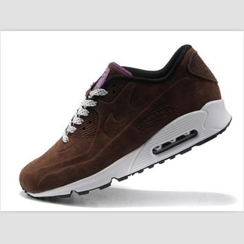 NIKE leisure sports running shoes Coffee colour