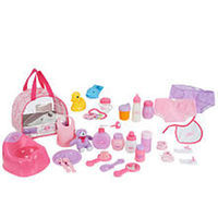 You & Me Baby Doll Care Accessories in Bag Color Style May Vary