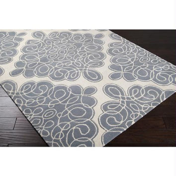 Area Rug - 5' X 8' - Colors Include Foggy Blue