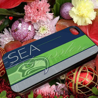 Seattle Seahawks - for iPhone 4/4s, iPhone 5/5s/5c, Samsung S3 i9300, Samsung S4 i9500 Hard Case
