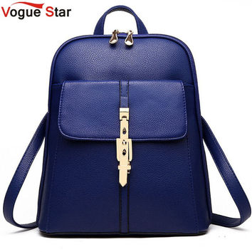 Vogue Star! 2016 backpacks women backpack school bags students backpack ladies women's travel bags leather package YA80-173