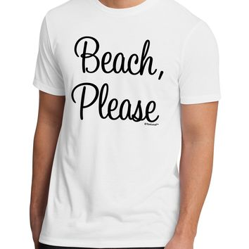 Beach Please Men's Sublimate Tee