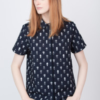 Poplin Pineapple Shirt