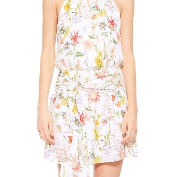 Parker Larissa Floral Silk Dress | Nordstrom