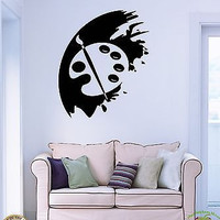 Wall Stickers Vinyl Decal Drawing Painter Paints Palette Art z1185
