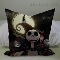 The Nightmare Before Christmas Case, Pillow Cover, Custom Pillow Case