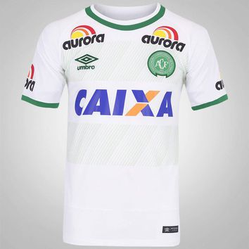 CAMISA MASCULINA CHAPECOENSE 2016/17 Away Men Soccer Jersey Personalized Name and Numb